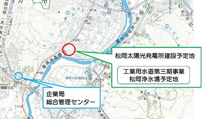 ※大分県企業局松岡太陽光発電所建設予定地 2012年7月1日から始まっ... 割高に見える、メガ